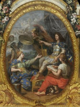 Order Restored in the Kingdom's Finances, 1662, 1680S by Charles Le Brun