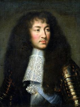 Portrait of Louis XIV (1638-1715) by Charles Le Brun