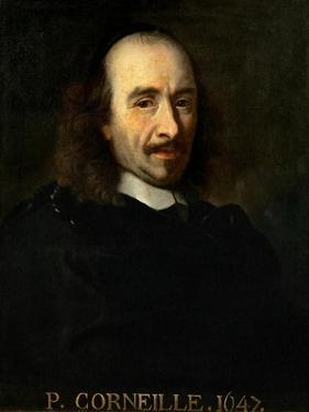 Portrait of Pierre Corneille (1606-168) by Charles Le Brun