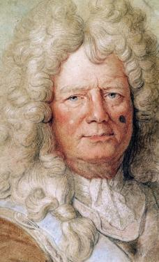 Portrait of Sebastien Le Prestre de Vauban by Charles Le Brun
