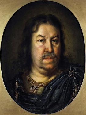 Portrait of Senator Prince Yakov Fyodorovich Dolgorukov, (1639-172), 1687 by Charles Le Brun