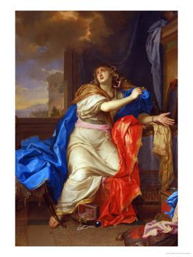 Saint Mary Magdalen Renounces All Pleasures of Life by Charles Le Brun