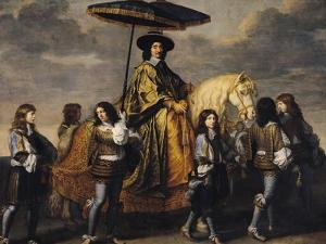The Chancellor Seguier (1588-1672) by Charles Le Brun