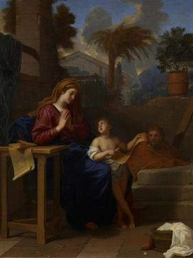The Holy Family in Egypt, C.1660 by Charles Le Brun