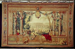The Month of May/ Chateau of Saint-Germain-En-Laye by Charles Le Brun
