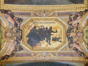 The Resistance of Paris, Ceiling Painting from the Galerie Des Glaces by Charles Le Brun