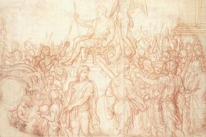 The Triumph of Emperor Constantine by Charles Le Brun