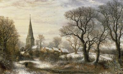 Walgrave, Northamptonshire, 1876 by Charles Leaver
