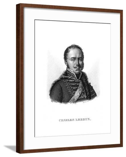 Charles Lebrun--Framed Giclee Print