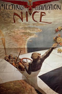 France, Nice, Meeting D'Aviation, April 10-25, 1910 by Charles Leonce Brosse