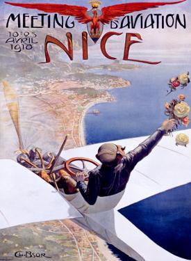 Meeting d'Aviation, Nice, 1910 by Charles Leonce Brosse