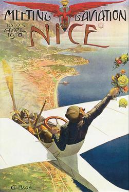 Meeting D'Aviation, Nice by Charles Leonce Brosse