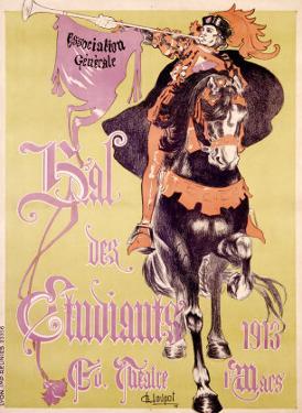 Bal des Etudiants by Charles Loupot