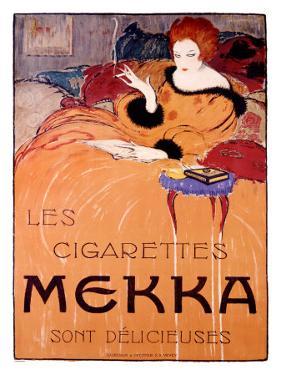 Cigarettes Mekka by Charles Loupot