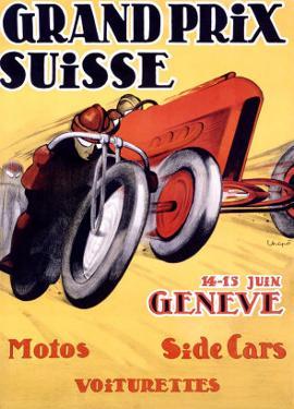 Grand Prix Swiss by Charles Loupot