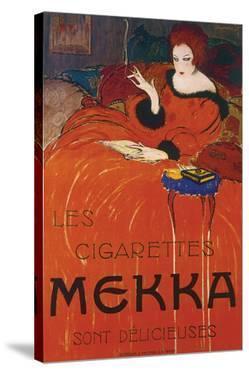 Les Cigarettes Mekka by Charles Loupot