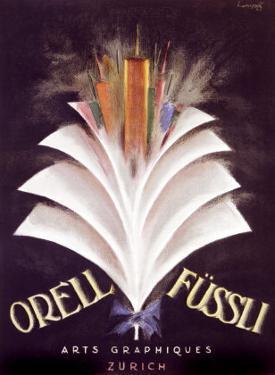 Orell Fussli by Charles Loupot