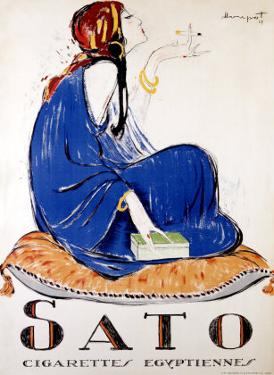 Sato Cigarettes by Charles Loupot