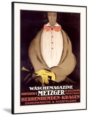 Waschemagazine Metzger by Charles Loupot
