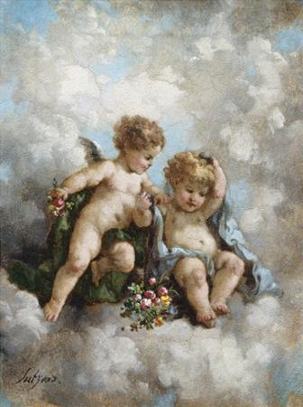 Cherubs in the Clouds by Charles Lutyens