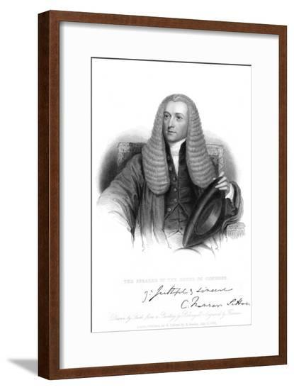 Charles Manners-Sutton--Framed Giclee Print