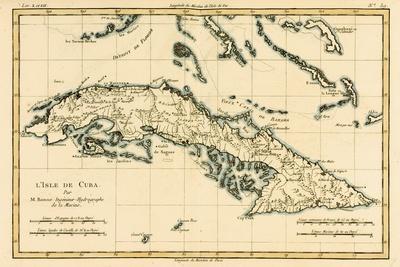 Cuba, from 'Atlas De Toutes Les Parties Connues Du Globe Terrestre' by Guillaume Raynal (1713-96)…