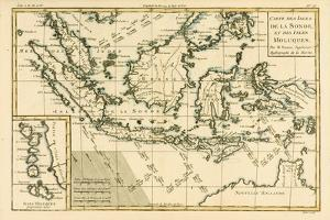 Indonesia and the Philippines, from 'Atlas De Toutes Les Parties Connues Du Globe Terrestre' by… by Charles Marie Rigobert Bonne