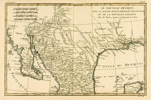 Northern Mexico, from 'Atlas De Toutes Les Parties Connues Du Globe Terrestre' by Guillaume… by Charles Marie Rigobert Bonne