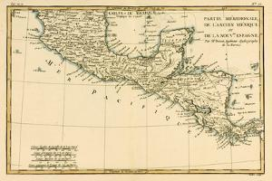Southern Mexico, from 'Atlas De Toutes Les Parties Connues Du Globe Terrestre' by Guillaume… by Charles Marie Rigobert Bonne