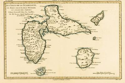 The Islands of Guadeloupe, Marie-Galante, La Desirade, and the Isles Des Saintes, French Colonies…