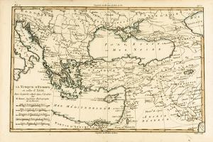 Turkey, from 'Atlas De Toutes Les Parties Connues Du Globe Terrestre' by Guillaume Raynal… by Charles Marie Rigobert Bonne