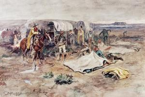 Calling the Horses by Charles Marion Russell