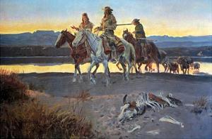Carson's Men by Charles Marion Russell