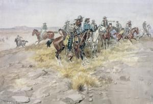 Cowboys by Charles Marion Russell