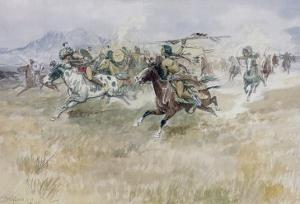 Indian Ambush by Charles Marion Russell