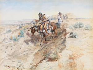 Indian Braves, 1899 by Charles Marion Russell