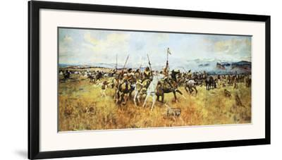 Lewis and Clark Meeting the Flatheads by Charles Marion Russell