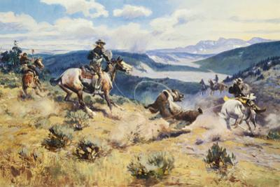 Loops and Swift Horses are Surer than Lead by Charles Marion Russell