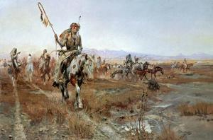 Medicine Man by Charles Marion Russell