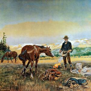 Partners by Charles Marion Russell