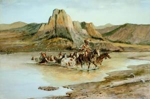 Return of the Horse Thieves by Charles Marion Russell