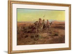 Scouts by Charles Marion Russell