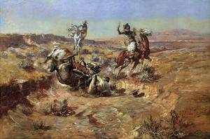 The Broken Rope by Charles Marion Russell