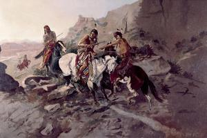The Scout by Charles Marion Russell