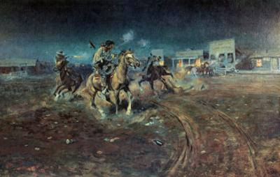 When Guns Speak by Charles Marion Russell