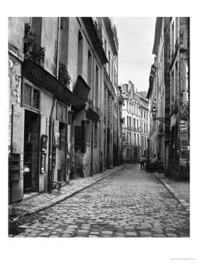 Rue Du Jardinet, from Passage Hautefeuille, Paris, 1858-78 by Charles Marville