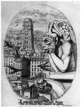 Le Stryge, C1841-1868 by Charles Meryon