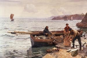 Crabber's Bait by Charles Napier Hemy