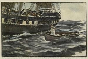 Illustration for the Rehabilitation of the Vigia by Charles Napier Hemy