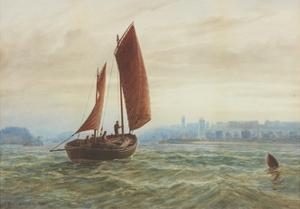 Off North Shields by Charles Napier Hemy
